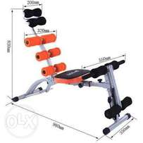 Six pack AB bench