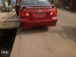 2004 Toyota corolla sport edition with good condition for sale