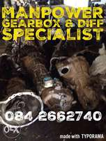 Gearbox and Diffs