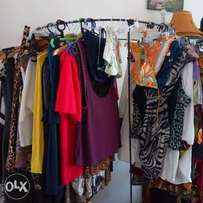 Clearance sale on ladies fancy clothes