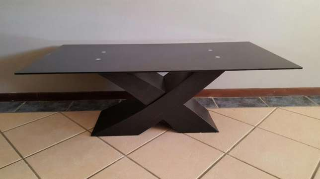 Brand New Glass Top Coffee Table Pretoria East - image 1