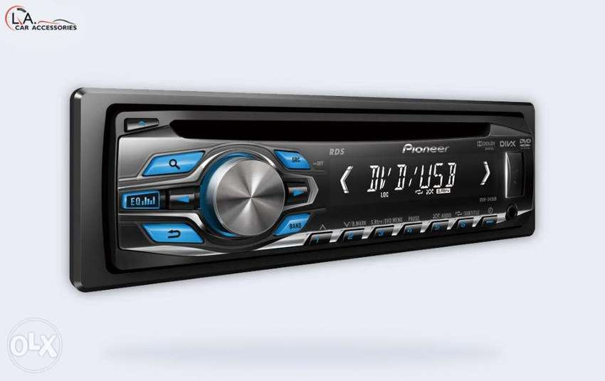 Pioneer Dvh 345ub 1din Dvd Cd Mp3 Usb Car Stereo Free Delivery