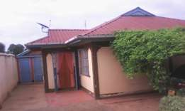 Three Bedroomed House for sale