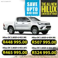 Toyota Hilux 2.8 GD-6 Special offers