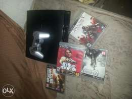 ps3 with 6games