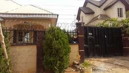 4 bedroom bungalow with 1 bedroom BQ for Outright Sale: Abuja
