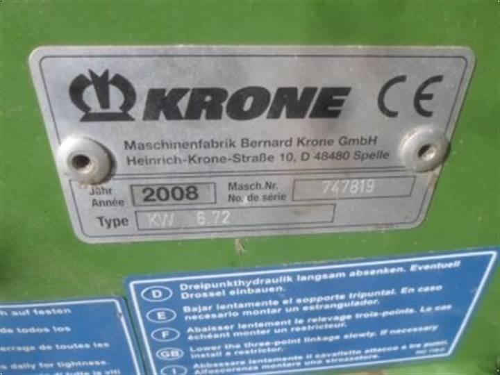Krone Kw 6.72/6 - 2008 - image 5