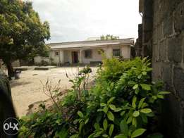 Set back three bed room bungalow for sale at Igando Lagos