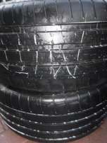 2xMichelin Pilot Supersport tyres 265/35/20, 80percent tread!!