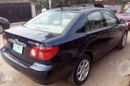2006 Toyota corolla tested okay