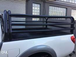 Mitsubishi club cab cattle rails