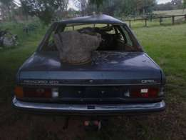 Opel Record 2.0L automatic transmission accident damaged car for sale