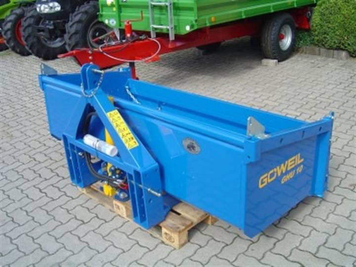 Göweil HECKCONTAINER GHU-10 NEU! 2,20M DW HOCHKIPPSCHAUFEL - 2014
