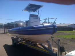 Buccaneer 5.5m Duck T Top,85Hp Yamaha !!