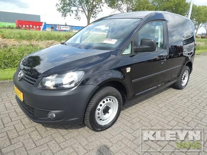 Volkswagen CADDY 1.6 TDI AC zwart, airco - 2014