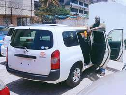 Toyota Probox Fully Loaded with Delight Chrome Rims (choice of 2)