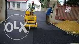 Quality tar surfaces ,tennis court, drive way