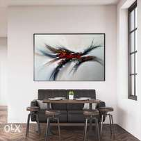 Modern big abstract painting art home decor