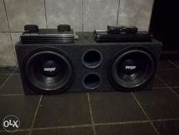 Subwoofers , amps ,super tweeters and equalizer