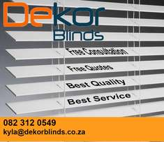 Dekor blinds