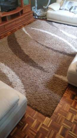large Shag Carpet - Brown Shades Nyari - image 2