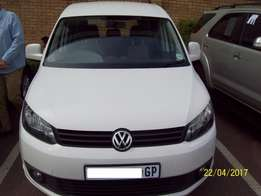 2013 Volkswagen Caddy 2.0 TDi Manual