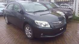 Dark Grey Toyota Axio available for sale.