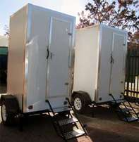 Discount VIP Double and Single mobile Toilet trailers