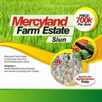 Genuine and limited Farmland beside Redemption camp.Siun.