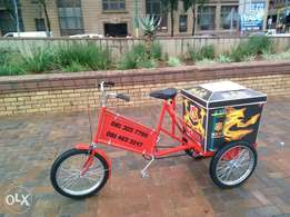 Mo Faya Tricycle Cooler