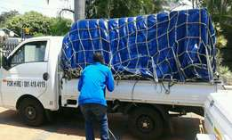 Bakkie for hire,furniture ,rubble
