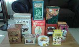 Price drop Antique collection tins all for R 99