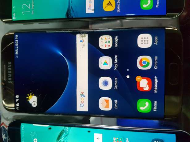 Cracked Samsung galaxy s6 edge plus and s7 edge all working perfect ok Ikeja - image 2