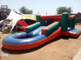 Jumping castle 3in1