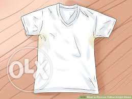 Remove unsightly deodorant stains from your shirts.