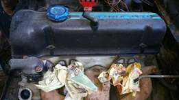 Datsun/Nissan L20 engine and gear box