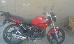 hi selling my motorbike if anyone entresed please contact me
