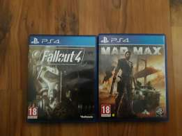Ps4 games for sale or swop