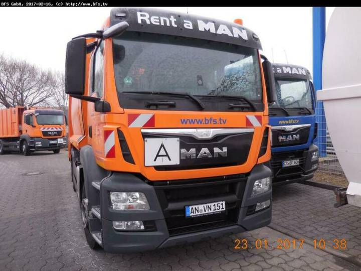 MAN TGS 26.320 6X2-2 BL HL HS Olympus 21W - Terberg- - 2016