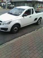 Good conditional bakkie for hire, short and long distance,