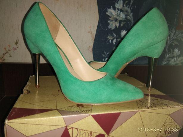 Туфли лодочки. Бирюзовые. Centro  300 грн. - Женская обувь Дзюбы на Olx 9f7fc9a656279