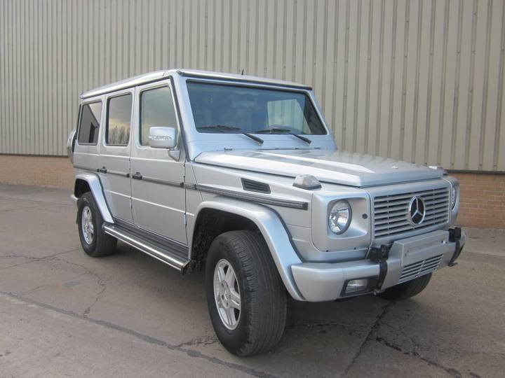 Mercedes-Benz G wagon 500 armoured B6 level - 2006