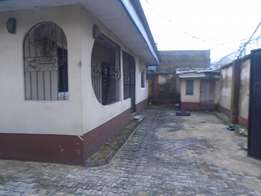 A semi detach 3 bedroom bungalow with ample parking space