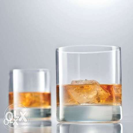 Unbranded Whiskey Glass Set - 6 Pieces - Clear Nairobi CBD - image 1