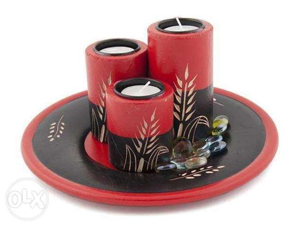Authentic Candle Holder Greenfields - image 3