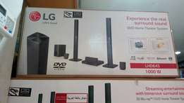 LG DVD home theater system LHD645