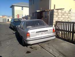 I'm selling my Opel Monza 1.6 license behind