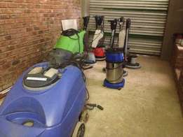 Cleaning Equipment, Auto Schrubbers and Single Disc Machines