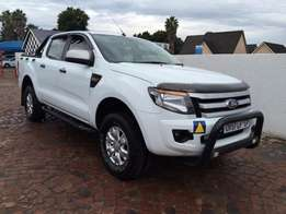 2013 ford ranger 2.2 double cab hi-rider xls