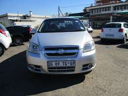 Chevrolet aveo 1.6 lt sedan, Toll bar, 5-doors, Factory A/c, C/d Pl